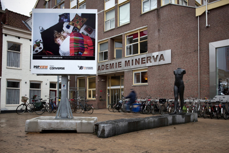 groningen 20110107. Popview outdoor expositie. foto: Pepijn van den Broeke